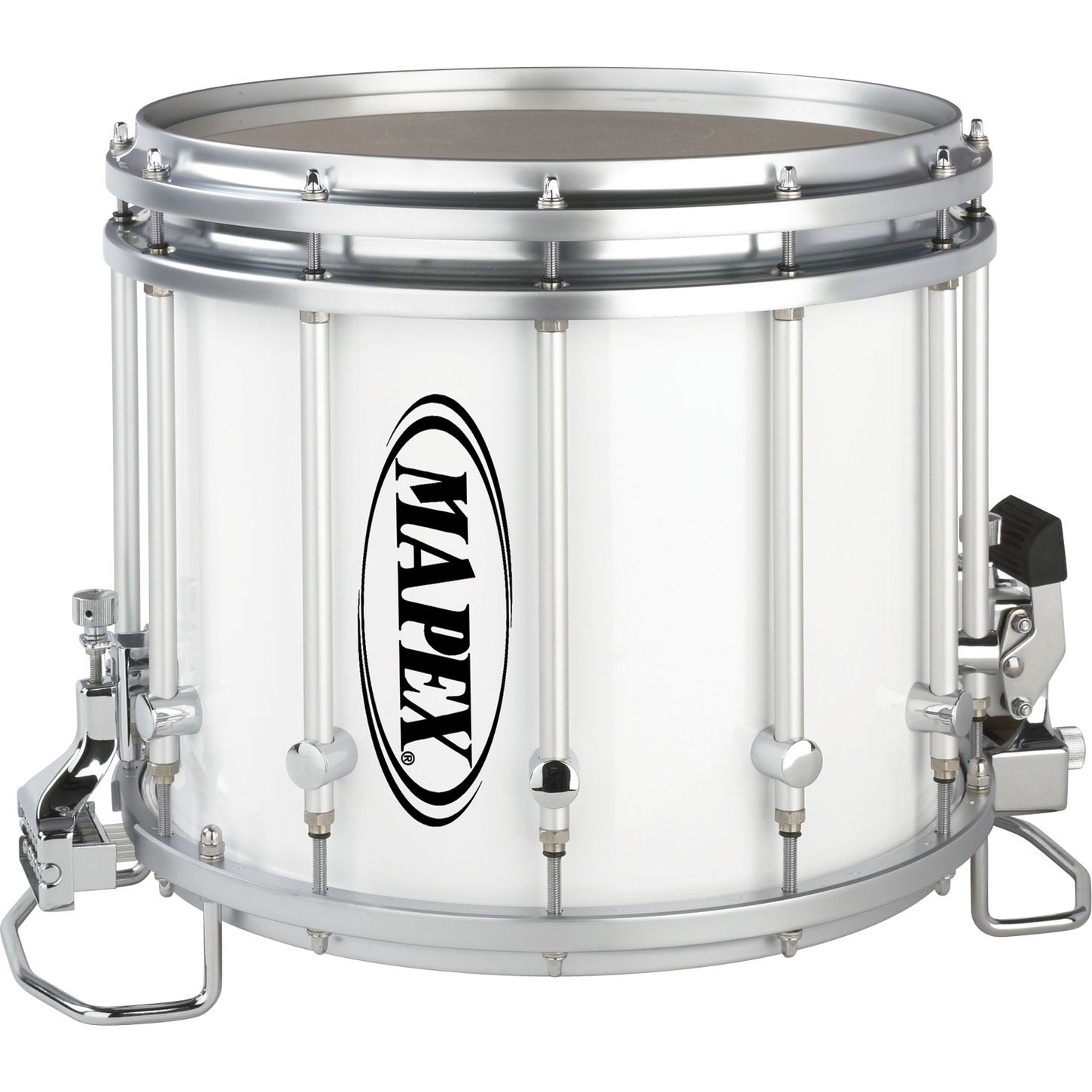 mapex quantum xt snare drum gray steel 14 x 12 in musician 39 s friend. Black Bedroom Furniture Sets. Home Design Ideas