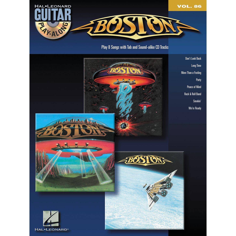 Boston: Guitar Play-Along Volume 86 (Hal Leonard Guitar Play-Along) Boston