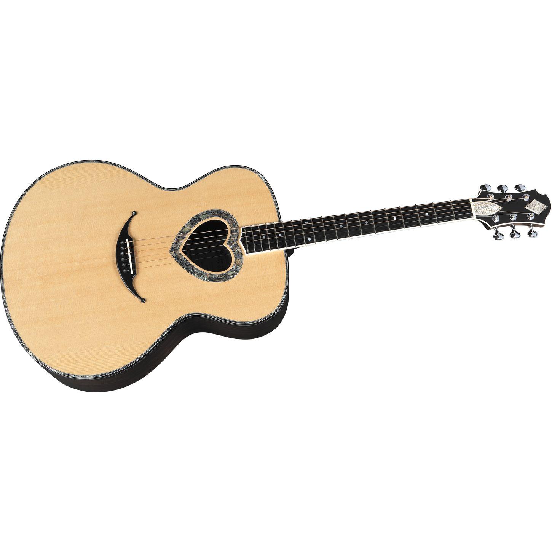 guitar images esp heart - photo #18