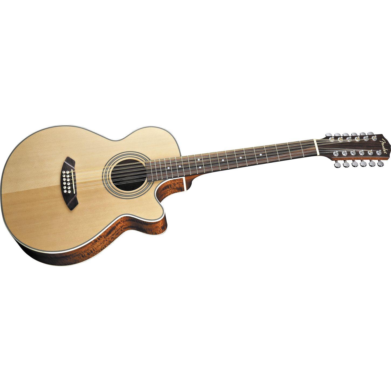 fender jg12ce 12 12 string acoustic electric guitar musician 39 s friend. Black Bedroom Furniture Sets. Home Design Ideas