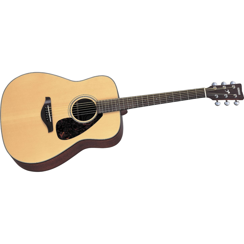 Yamaha fg700s folk acoustic guitar musician 39 s friend for Where are yamaha guitars made