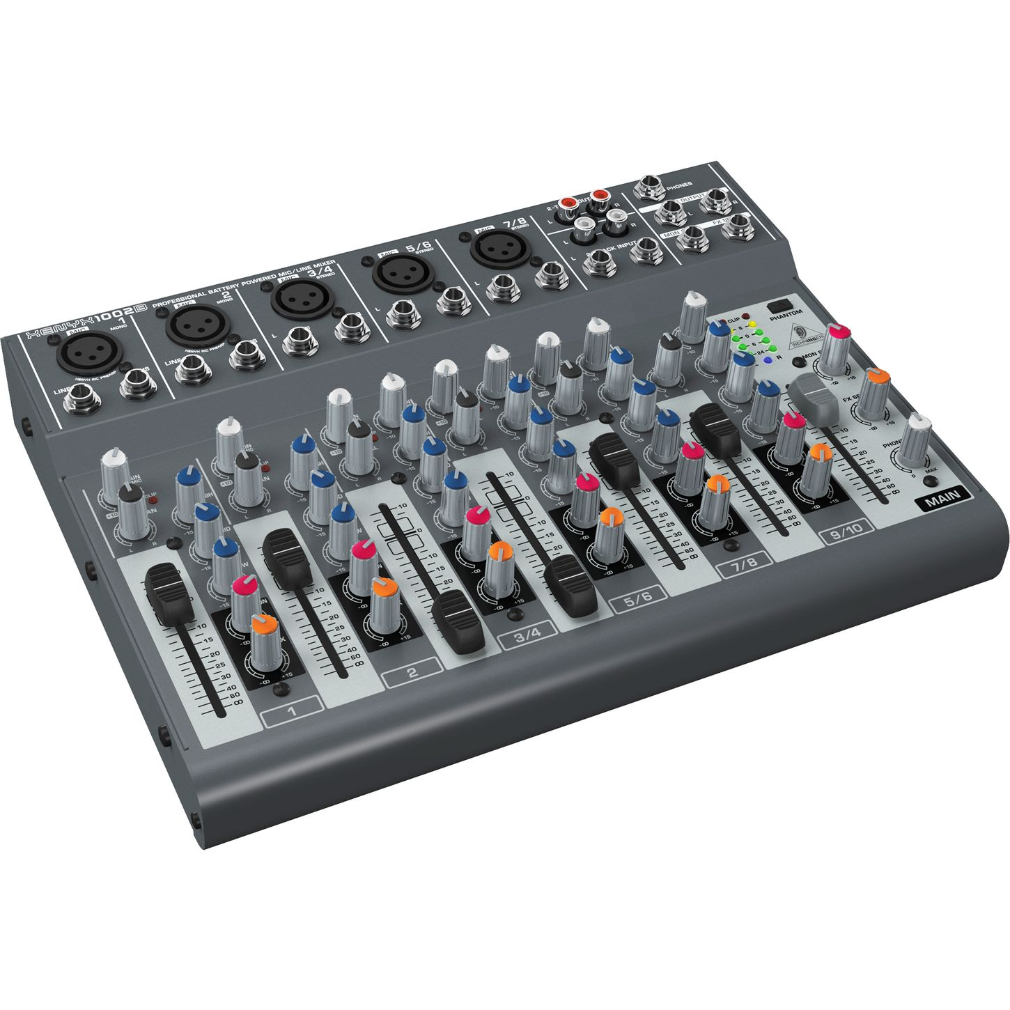 behringer xenyx 1002b 5 channel compact mixer musician 39 s friend. Black Bedroom Furniture Sets. Home Design Ideas