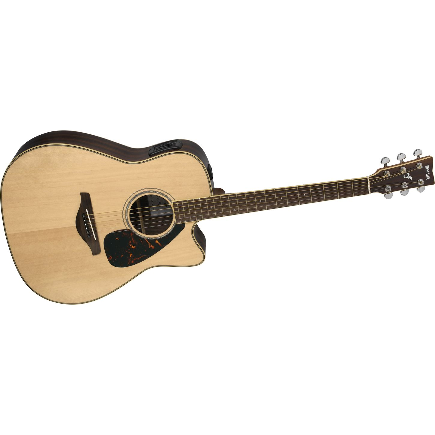 yamaha fgx730sc solid top acoustic electric guitar musician 39 s friend. Black Bedroom Furniture Sets. Home Design Ideas