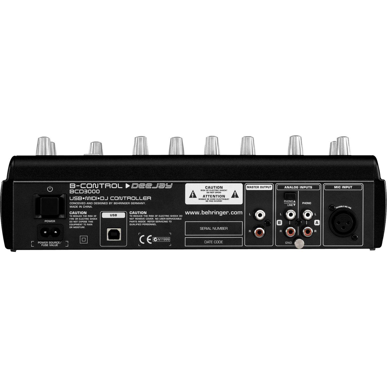 Máy DJ - Behringer B-CONTROL DeeJay BCD3000 DJ Controller. Mua hàng Mỹ tại e24h.