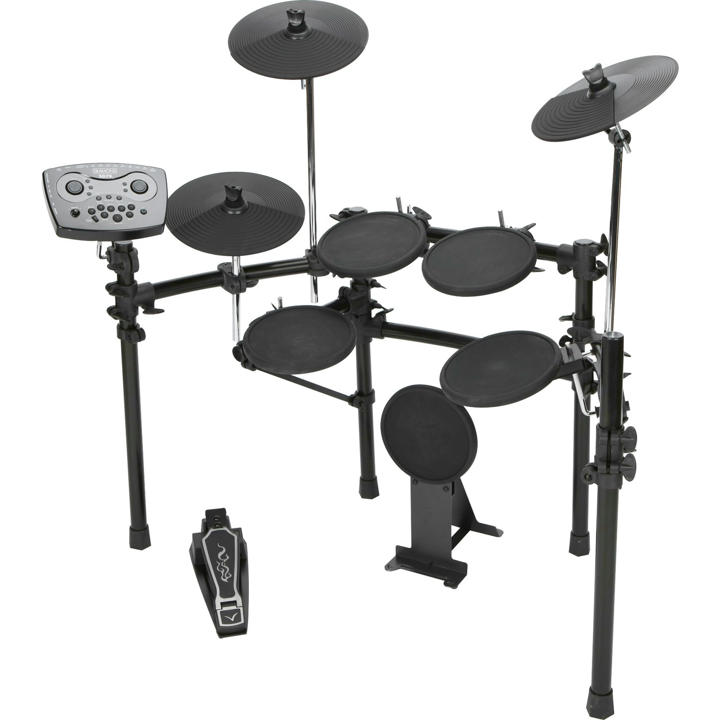 simmons sd7pk electronic drum set musician 39 s friend. Black Bedroom Furniture Sets. Home Design Ideas