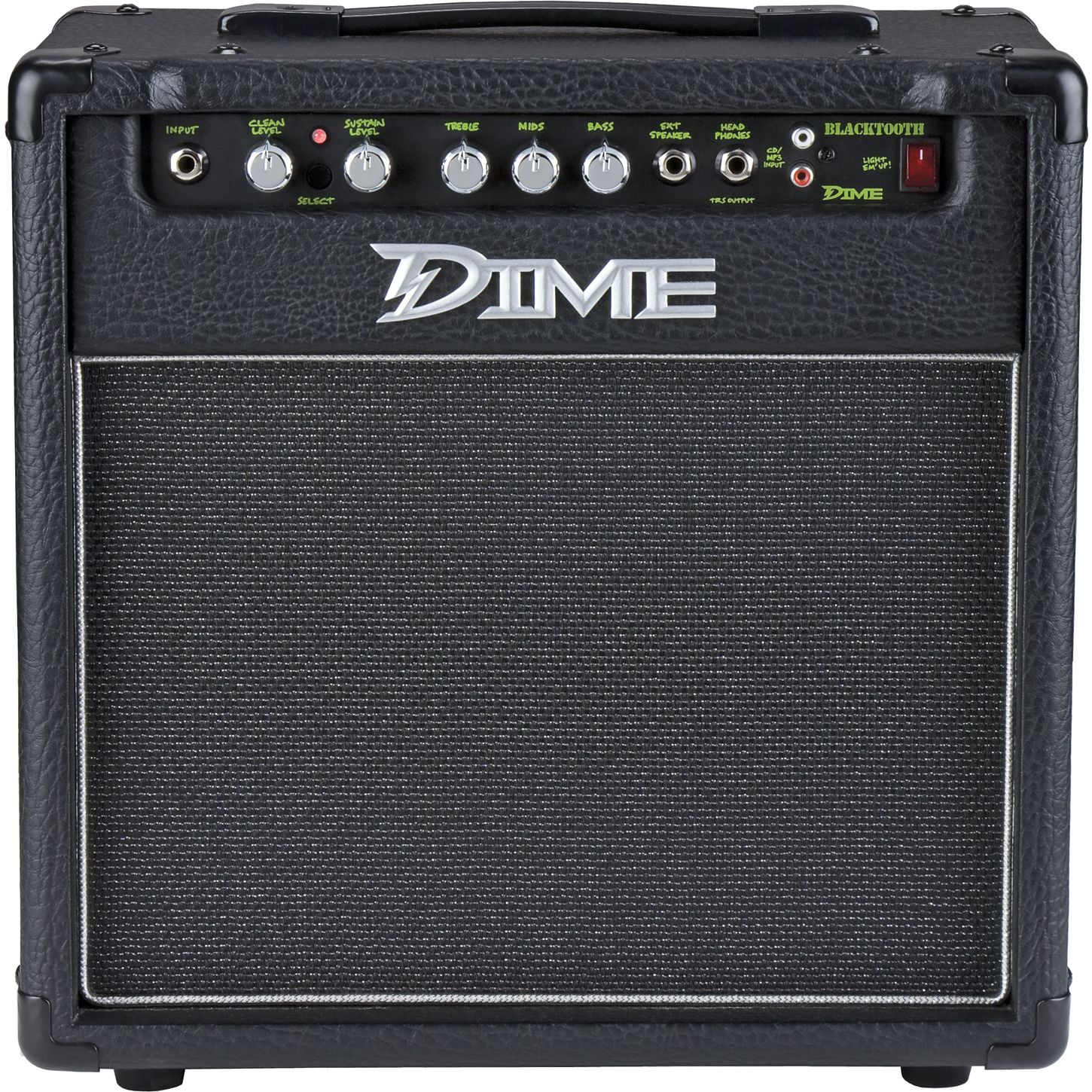dime amplification dime blacktooth 20w 1x10 guitar combo amp musician 39 s friend. Black Bedroom Furniture Sets. Home Design Ideas