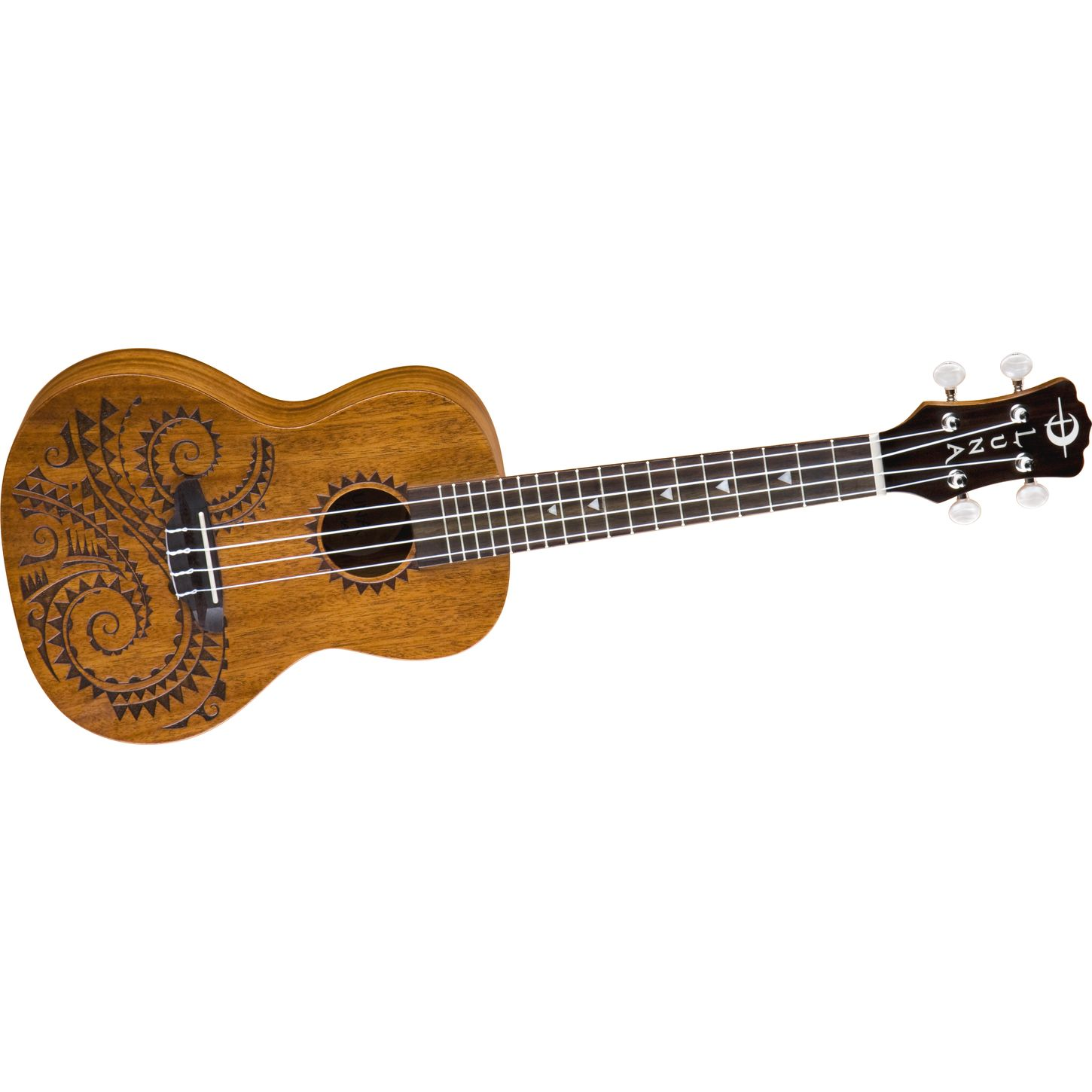 Luna Guitars Tattoo Concert Ukulele
