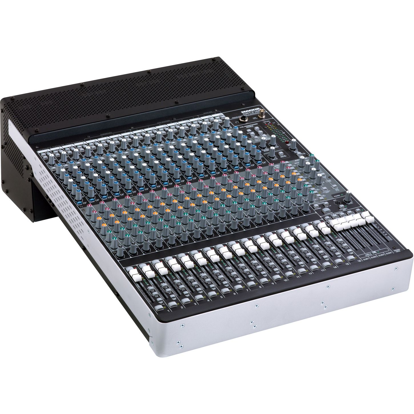 1640i with 16 Onyx Mic Pre's and Perkins EQ's for 16 channel LIVE 24bit recordings