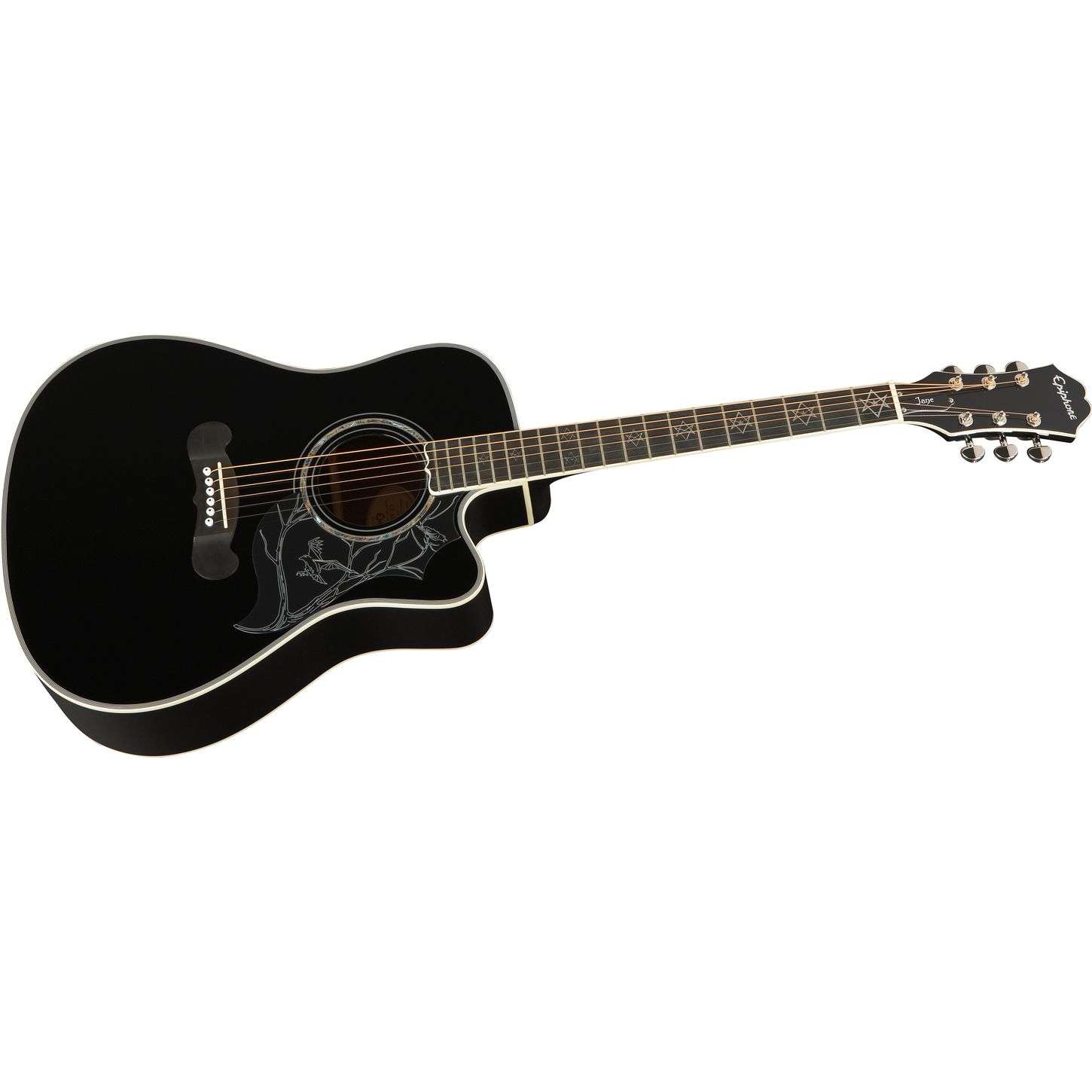 epiphone dave navarro signature model acoustic electric guitar musician 39 s friend. Black Bedroom Furniture Sets. Home Design Ideas