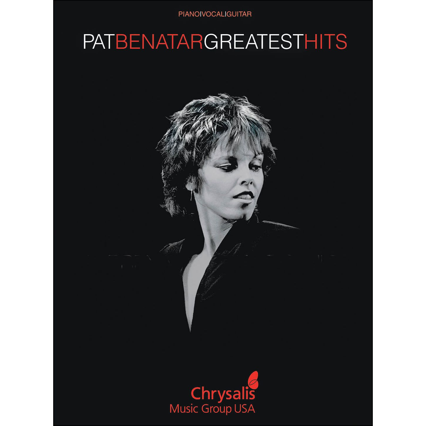 hal leonard pat benatar greatest hits arranged for piano vocal and guitar p v g musician s