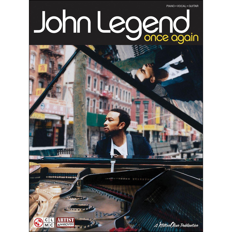 Cherry Lane John Legend Once Again Arranged For Piano