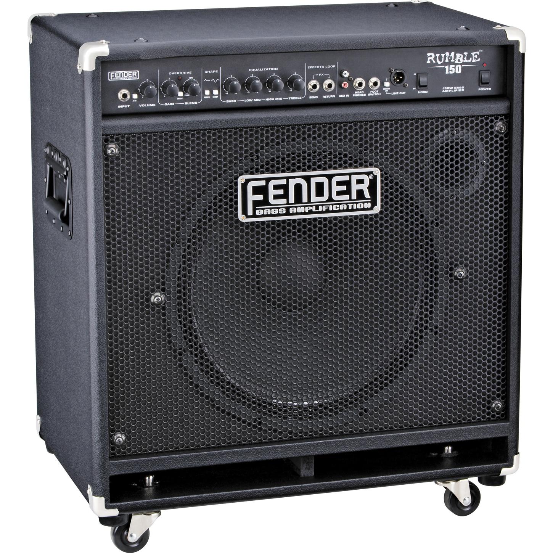 Combo Bass Amplifiers : fender rumble 150 150w 1x15 bass combo amp musician 39 s friend ~ Vivirlamusica.com Haus und Dekorationen