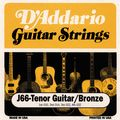 D'AddarioJ66 80/20 Tenor Guitar Strings