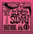 Ernie Ball2223 Nickel Super Slinky Custom Gauge Electric Guitar Strings