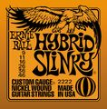 Ernie Ball2222 Nickel Hybrid Slinky Electric Guitar Strings