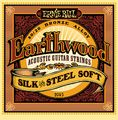 Ernie Ball2045 Earthwood 80/20 Bronze Silk and Steel Soft Acoustic Guitar Strings
