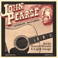 John Pearse100XL 80/20 Bronze Acoustic Guitar Strings