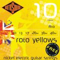 Roto Yellows Electric Guitar Strings
