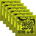 Ernie Ball2221 Nickel Regular Slinky Electric Guitar Strings 6 Pack