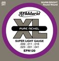 D'AddarioEPN120 Pure Nickel Super Light Electric Guitar Strings