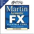 MartinFX650 80/20 Bronze Acoustic Medium Guitar Strings