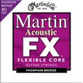 MartinFX775 Phosphor Bronze Acoustic Custom Light Guitar Strings