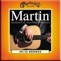 MartinM145 Light/Medium 80/20 Bronze Acoustic Guitar Strings
