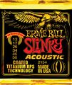 Ernie Ball2154 Coated Slinky Medium Acoustic Guitar Strings