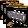 Gibson Brite Wires Light Electric Guitar Strings - 3-Pack