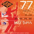 RotosoundRS77M Jazz Bass Monel Flat Wound Strings