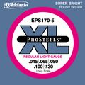 D'AddarioProSteels EPS170-5 Regular Light 5-String Bass Strings