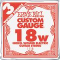 Ernie BallNickel Wound Single Guitar Strings 3-Pack