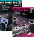 AlfredBasics of Live Sound & Home Recording