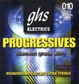 GHS Progressives Electric Guitar Strings Light