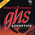 GHS Phosphor Bronze Acoustic Guitar Strings - Extra Light