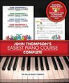 Willis MusicJohn Thompson's Easiest Piano Course Complete boxed Set (Books 1 - 4 with CD's)