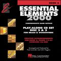 Hal LeonardEssential Elements 2000 Book 2 Play Along Trax 2 CD Set Discs 2 & 3 Brass & Woodwind