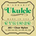 D'AddarioJ65 Nylon Ukulele Strings