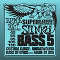 Ernie Ball5-string Slinky Bass Strings Super Long Scale