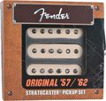 Fender Stratocaster Original 57/62 Pickup Set White