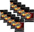 GHSBoomers Light Roundwound Electric Guitar Strings 10-Pack