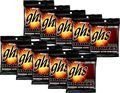 GHSBoomers Extra Light Electric Guitar Strings 10-Pack