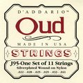 D'AddarioJ95 Silver-Plated Wound Oud String Set