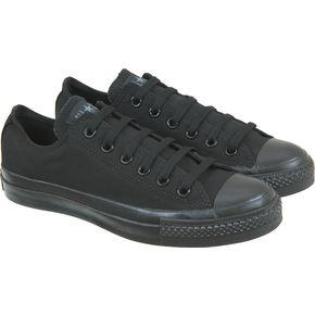 black on black low top converse