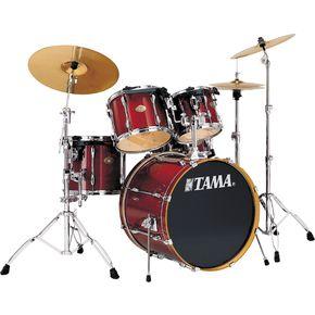 tama rockstar custom fusion 5 piece drum set musician 39 s friend. Black Bedroom Furniture Sets. Home Design Ideas