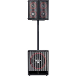 sistema de audio cerwin vega CVA-28 y CVA-118