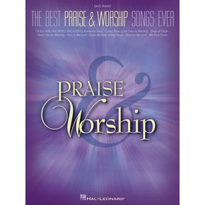Hal Leonard The Best Praise & Worship Songs Ever For Easy Piano The Best ...