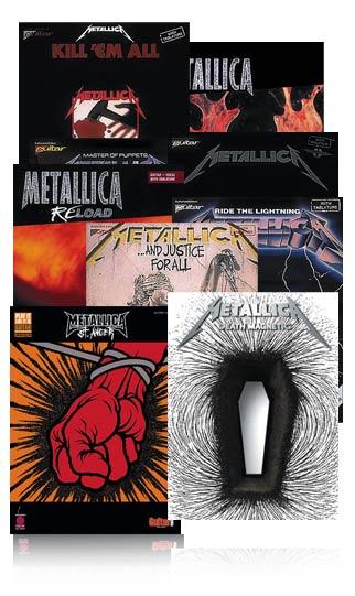 Metallica Complete Guitar Tab Library