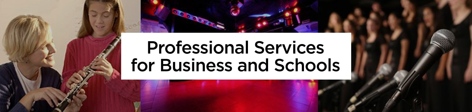 Professional Services for Business and Schools