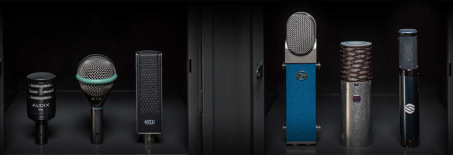The Mic Locker. Must-have mics for your studio arsenal